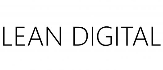 logo LEAN DIGITAL on white